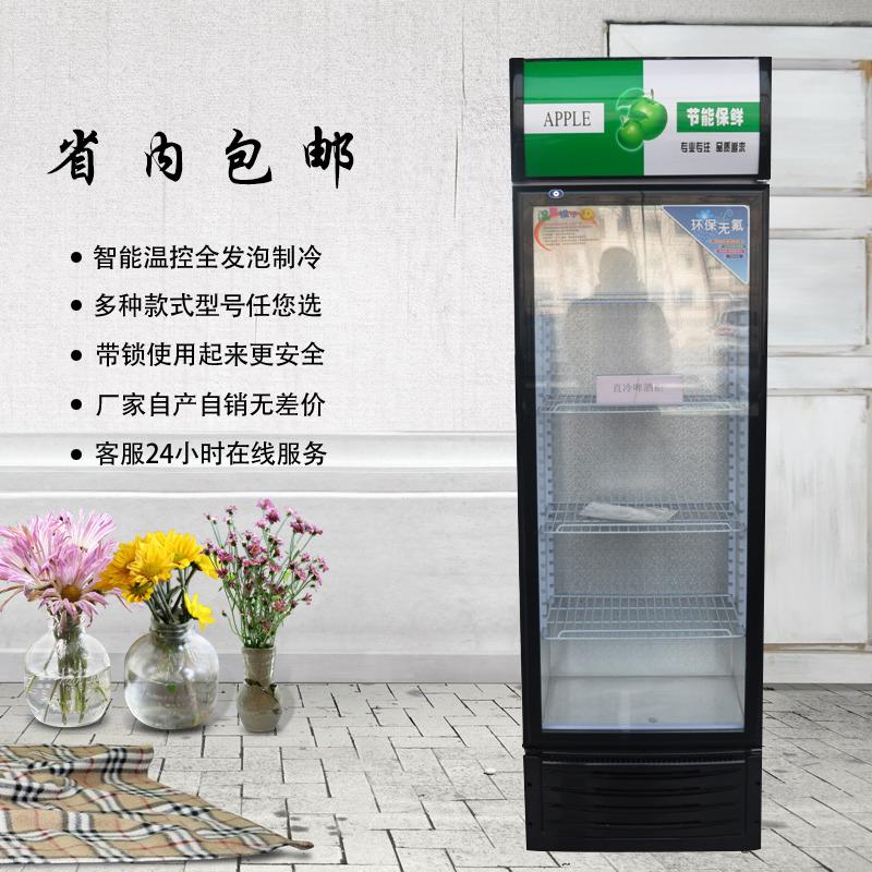 [啤酒柜饮料展示柜小型] один дверь [冰箱冷藏立式商用蔬菜水果保鲜超市] дверь [面]