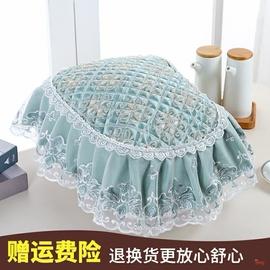 罩防油防尘盖巾圆形欧式电饭煲电饭锅套花边布艺万能家用蕾丝罩子图片