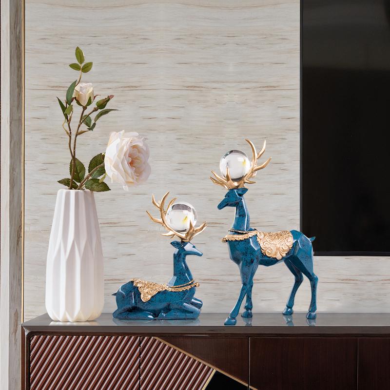 创意北欧现代简约客厅电视餐桌花瓶