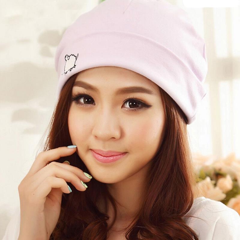 雅孕棉月子帽堆堆產婦帽女春 孕婦帽月子頭巾坐月子帽子