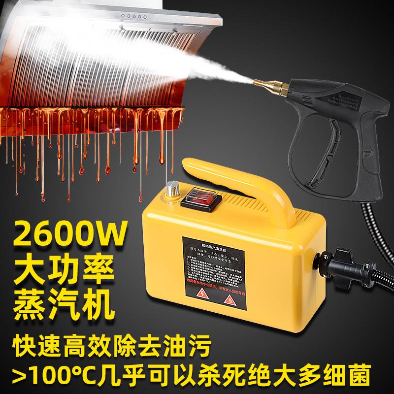 高温高压蒸汽清洁机家用家电消毒空调厨房油烟机油污清洗机洗车机