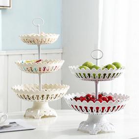 客厅茶几创意现代家用多层水果盘