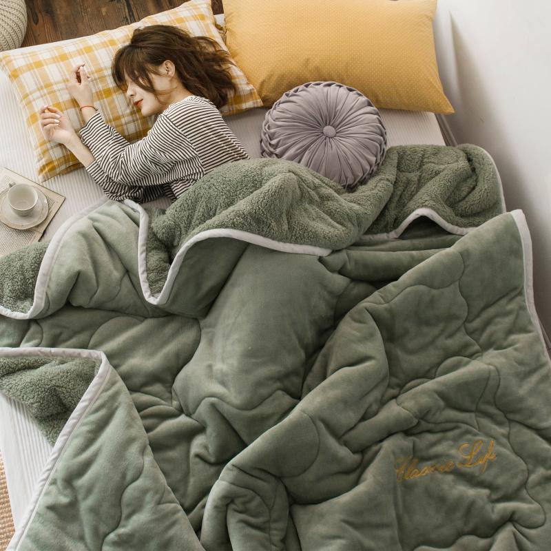 冬季加厚三层被子法兰绒单人小毯子评价好不好