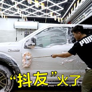 洗车拖把擦车刷子刷车软毛清洗工具长柄伸缩汽车用品清洁专用神器品牌