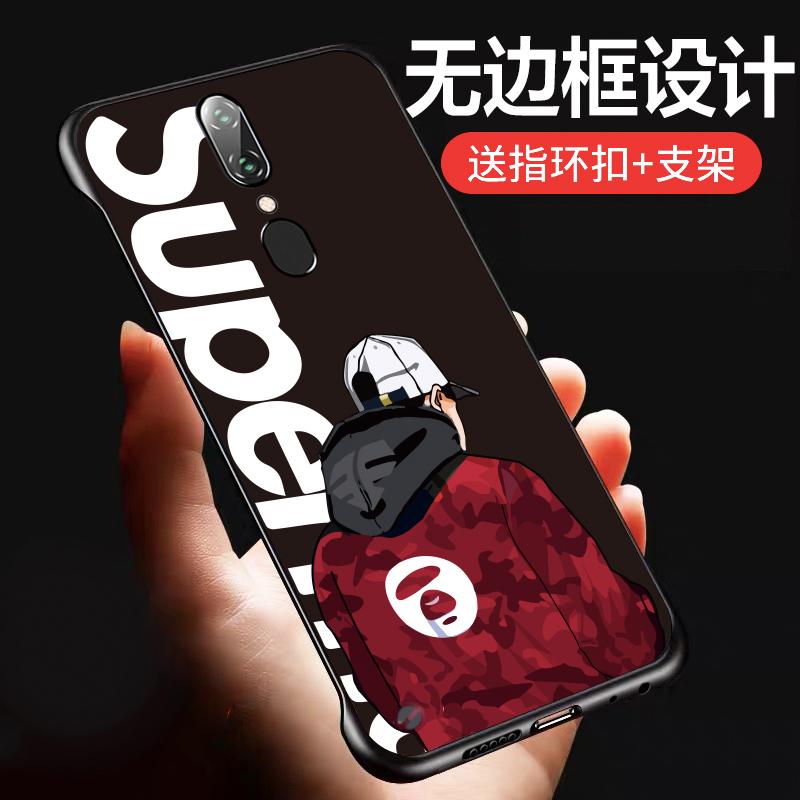 券后9.90元oppoa9手机壳防摔a9x新款f11硅胶半包0pp0保护套0ppo f11超薄