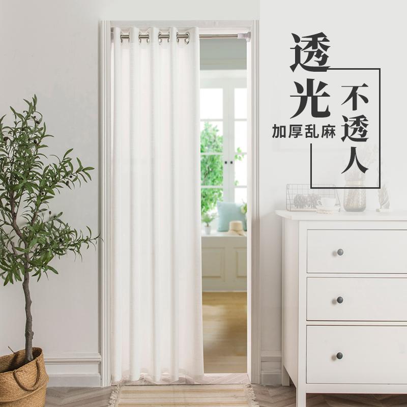 夏季防蚊免打孔安装卧室透气隔断帘质量怎么样