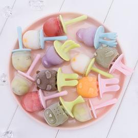 硅胶雪糕模具家用自制做冰糕冰棒冰棍冰淇淋儿童冰格冻冰块的磨具图片