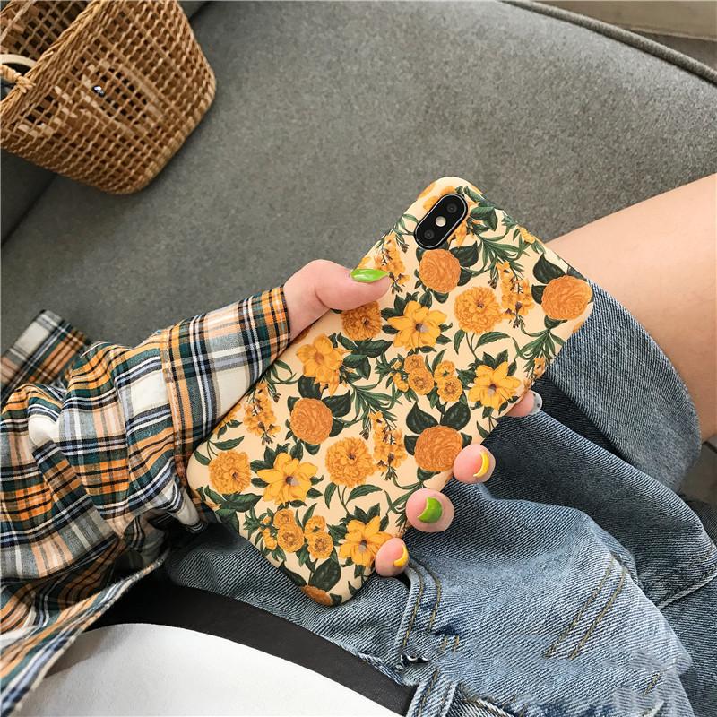 满39.60元可用19.8元优惠券小黄花朵vivox23创意x27手机壳