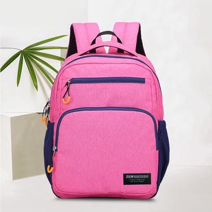 日本小学生书包一二三到六年级耐脏女男童儿童双肩背包软布料防水图片