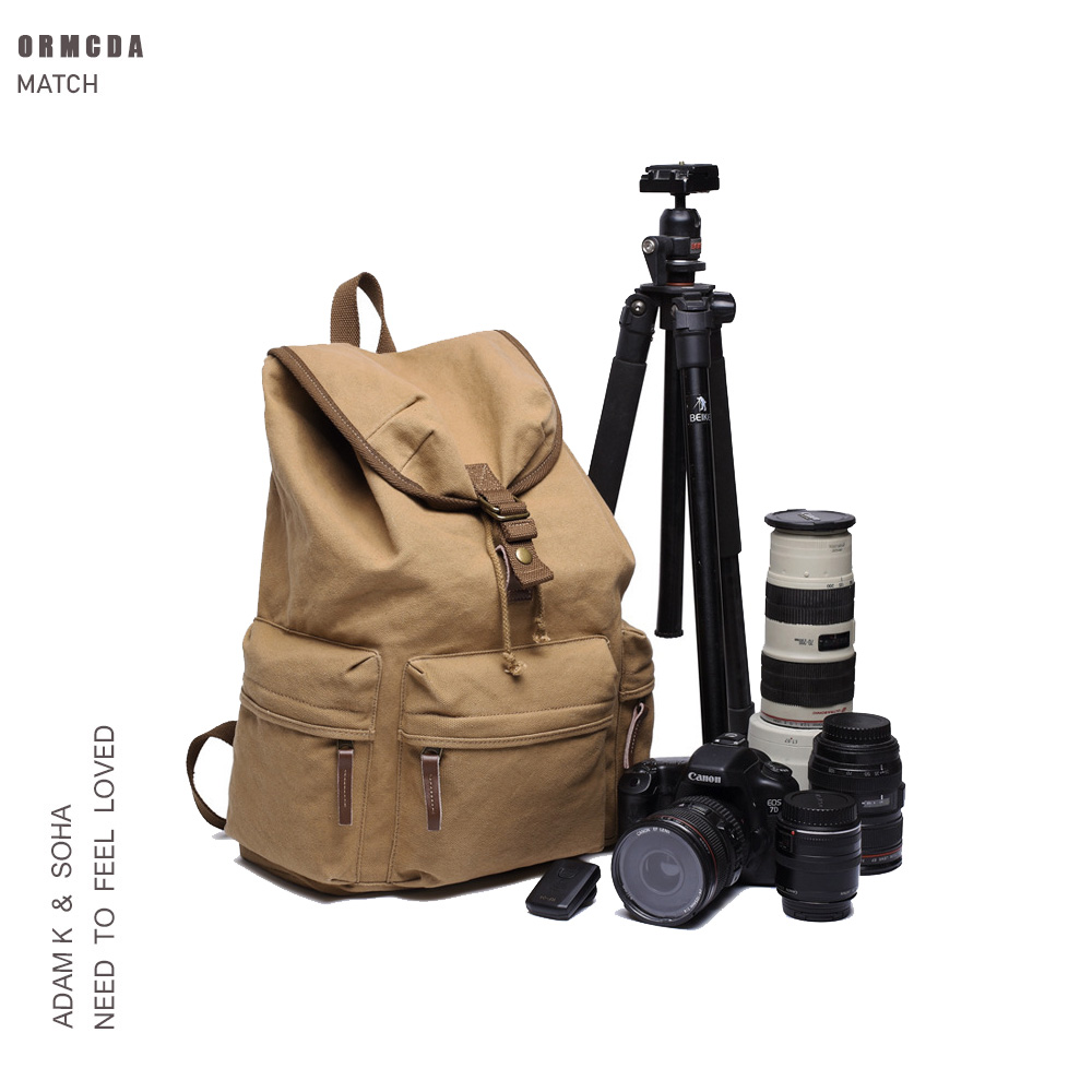 Photography bag double shoulder SLR professional National Geographic large capacity leisure retro fashion outdoor travel canvas bag