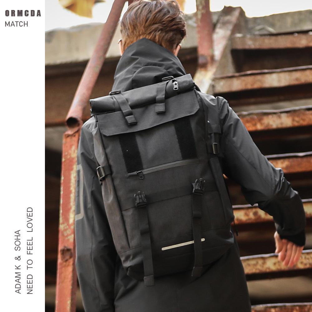 户外双肩包男旅行登山包女大容量轻便休闲徒步包USB接口运动背包
