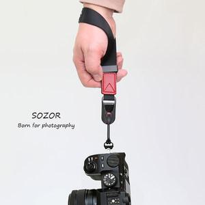 相机腕带佳能5D单反手绳微单A7C斜跨挂绳富士XS-10尼龙快拆肩带