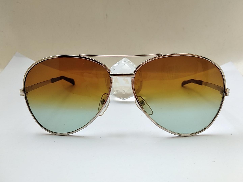 70年代 飞行员款太阳镜 渐变玻璃镜片