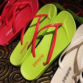 2018人字拖女夏时尚防滑沙滩海边韩版平底夹脚情侣凉拖鞋平跟外穿