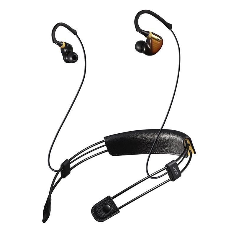 JVC/杰伟世 M10BT 颈挂式k2无线蓝牙魔音主动降噪hifi入耳式耳机