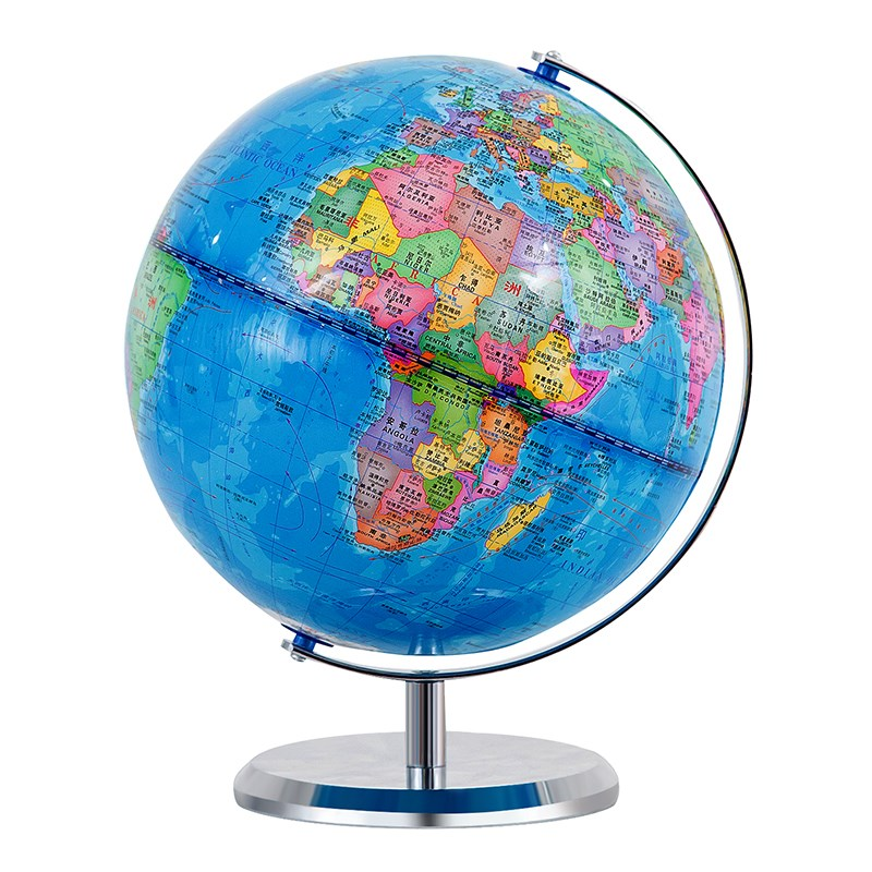 Globe for high school students portable for junior high school students topography for middle and high school students geography 2019 edition atmosphere