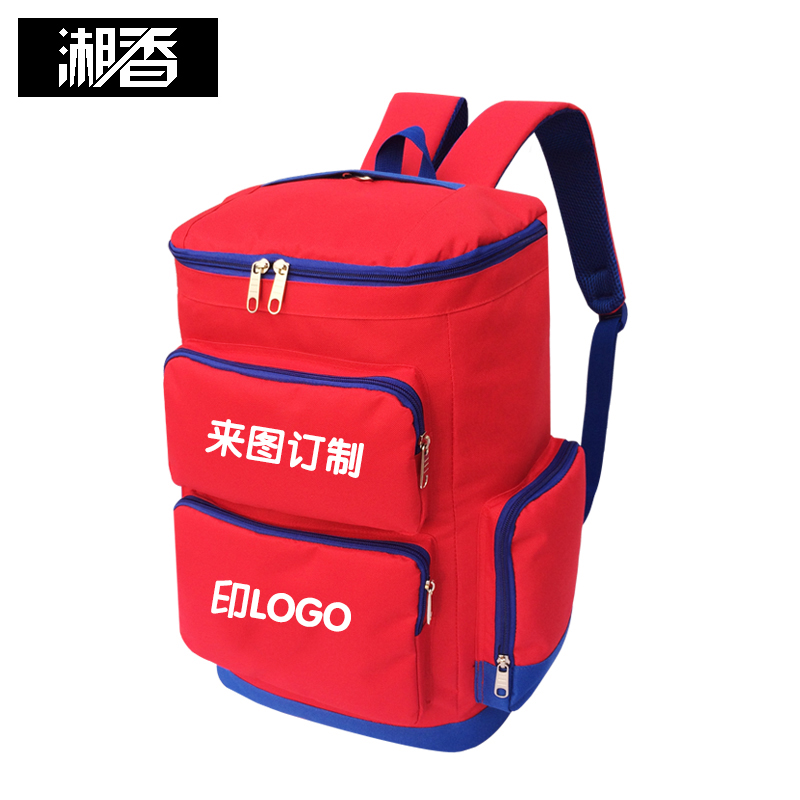 Customized large capacity Travel Backpack housekeeping bag household appliances cleaning kit can print logo embroidery text