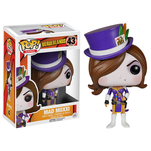 Spot imported Funko pop no owners land mad MOXXI
