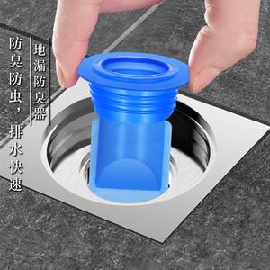 地漏防臭器下水管地漏芯卫生间防反味硅胶内芯下水道防臭盖密封圈