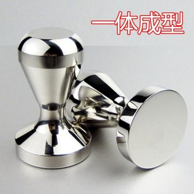 Stainless steel powder press coffee powder press 49mm51mm57.5mm powder hammer coffee machine handle filling device