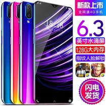 全面屏智能手机学生价指纹电信一体机4G水滴刘海屏全网通X23超薄