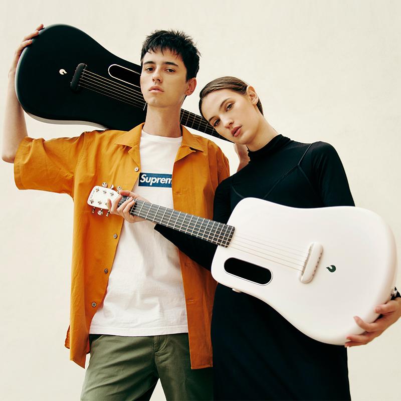 LAVA ME拿火民谣吉他36寸初学者男女成人学生碳纤维电箱旅行吉他
