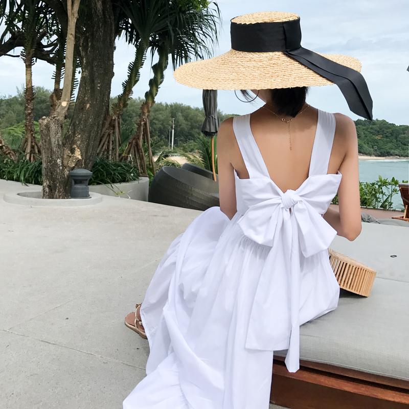 海南三亚沙滩裙普吉岛适合海边拍照的裙子泰国风情度假连衣裙超仙买三送一