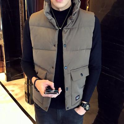 【酒店版】2018冬装新款棉马甲 A011-C950*P105 咖啡