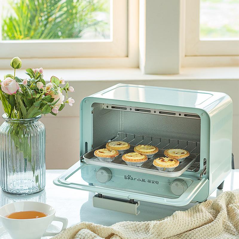 小熊電烤箱家用多功能烘焙蛋糕面包全自動智能小型宿舍迷你小烤箱