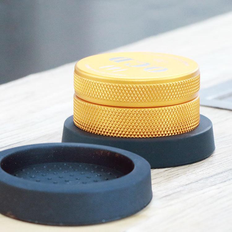 新款咖啡压粉防滑垫包邮压粉锤圆垫(非品牌)