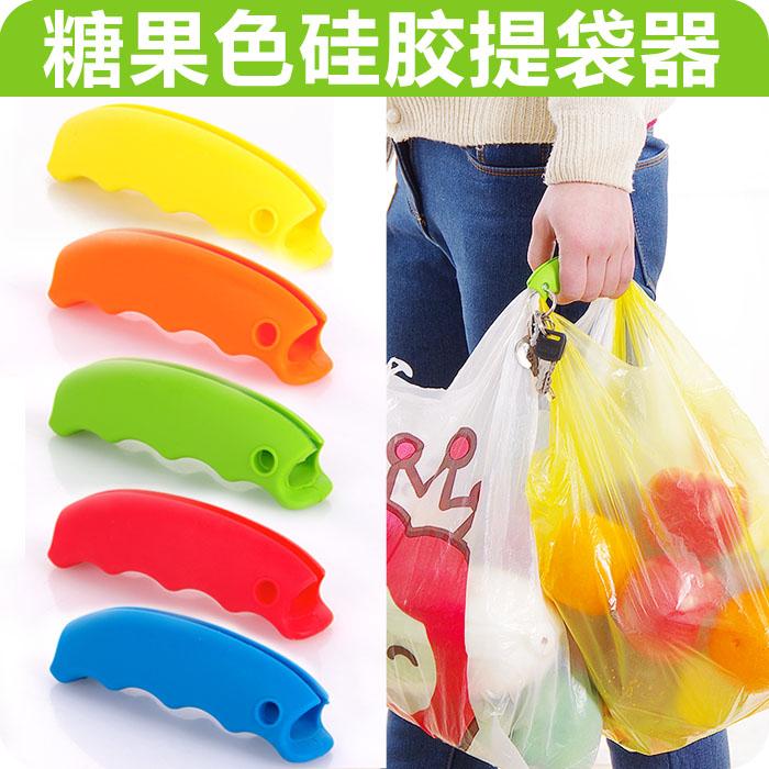 便携硅胶提菜器省力不勒手提物提手买菜购物拎塑料袋防勒手拎菜器