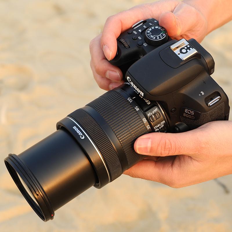 Canon/佳能800D EOS (18-135) 套机 蚂蚁摄影 入门级 女男 高清 旅游 数码照相机 单反相机 佳能 eos 800d