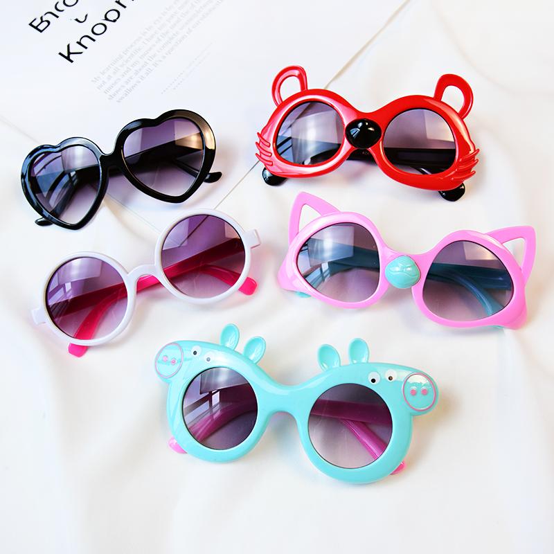 儿童女童可爱防紫外线环保太阳镜10月18日最新优惠