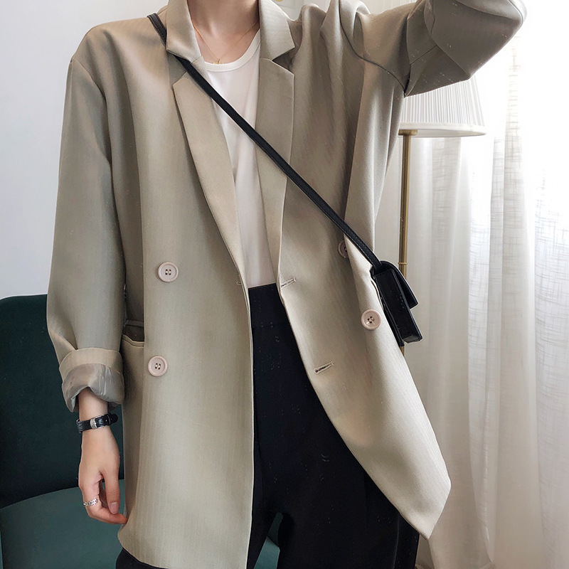 Casual sunscreen suit thin texture casual suit coat women summer loose and breathable 2020 Korean version loose
