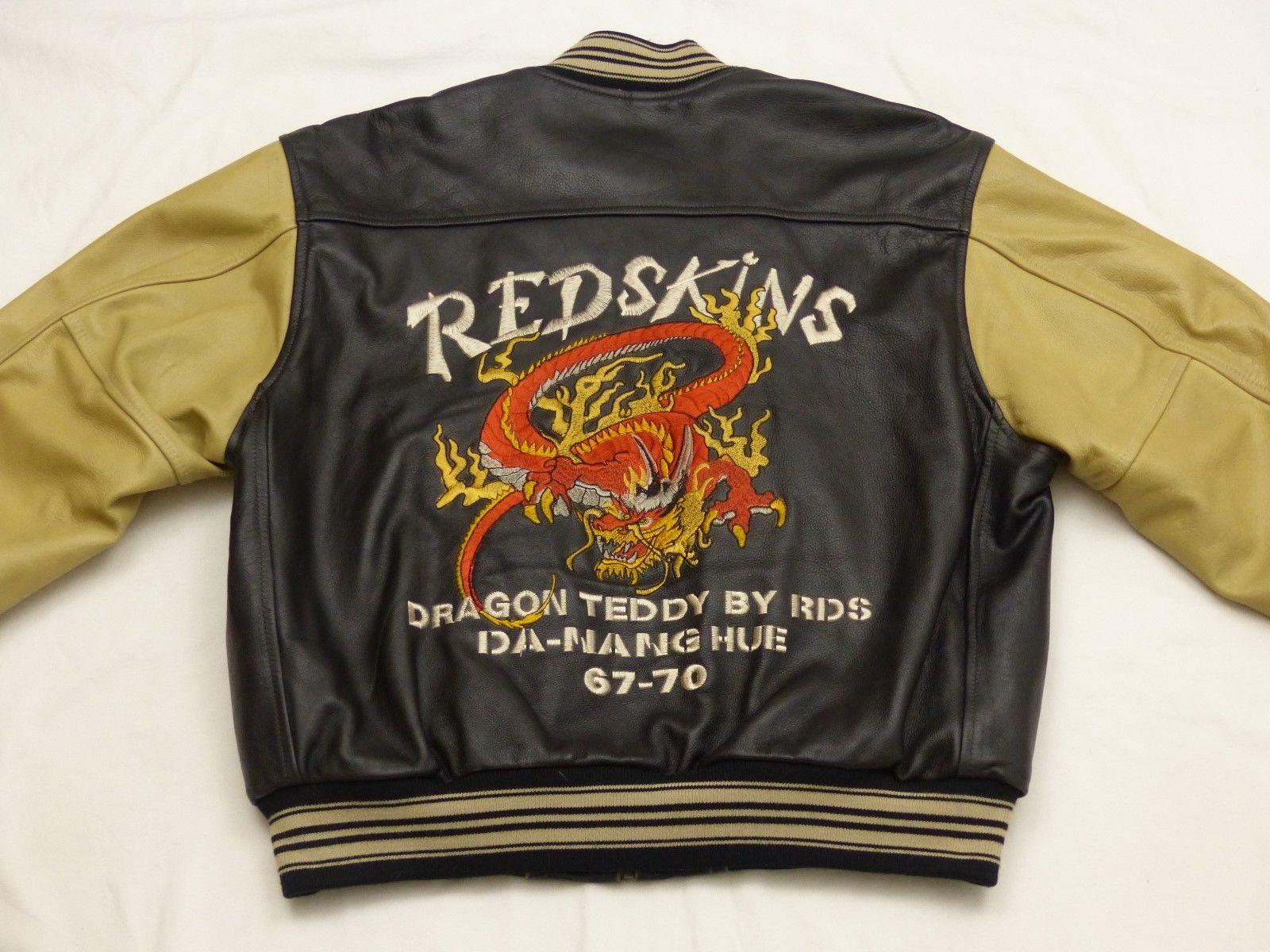 Buy Redskins leather jacket KLN Teddy hang hue XL leather jacket for pilot motorcycle jacket for men