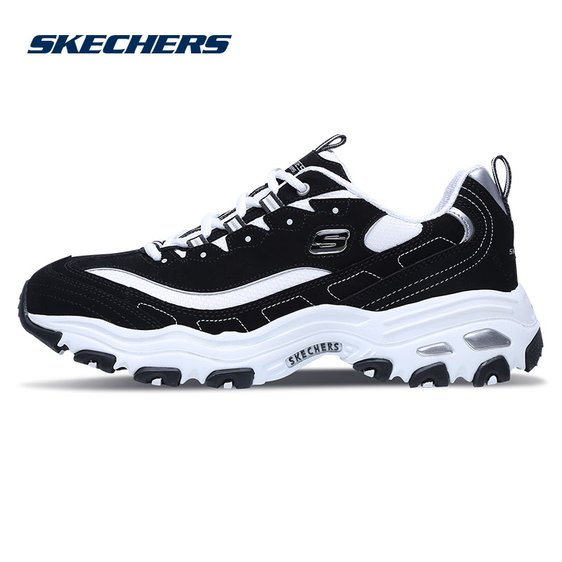 Skechers斯凯奇男鞋D'lites休闲鞋 时尚熊猫鞋52675
