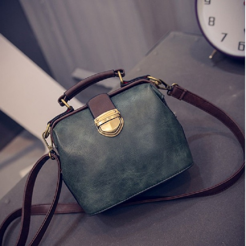 Womens bag 2020 new Korean fashion retro Doctor Bag versatile messenger bag portable Shoulder Bag Mini Bag
