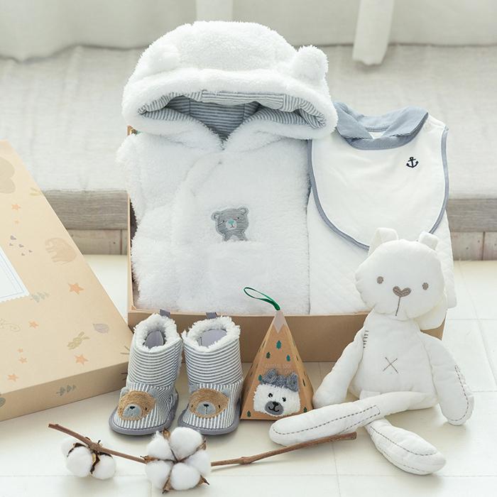 新生婴儿儿衣服套装纯棉秋冬季初生刚出生的宝宝满月礼物用品礼盒