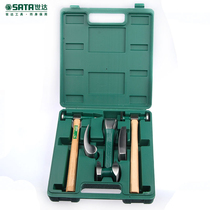 Shida 6 pieces Auto Repair sheet metal repair set lining Tiamakin Hammer Combination kit tool 09152 concave shaping