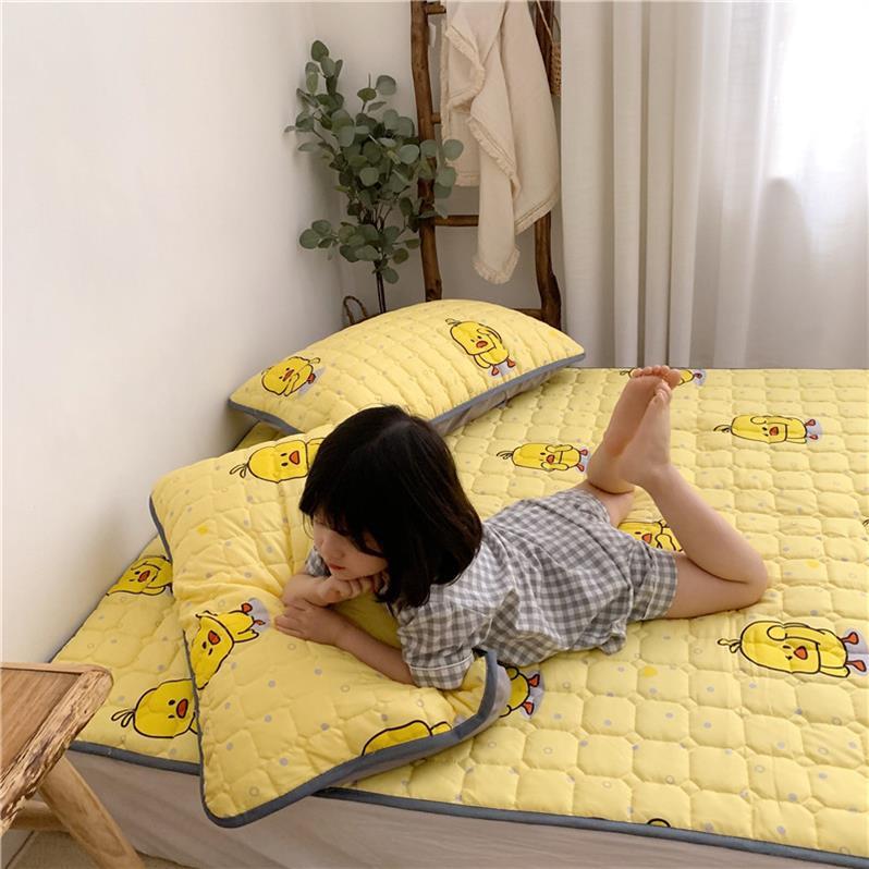 塌塌米1米固定器防跑垫可折叠床垫软垫踏踏米网红款席梦思经济型29.64元包邮