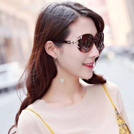 通用平光防风镜面港风嘻哈新潮变色渐韩国女士眼镜时尚太阳镜大脸图片