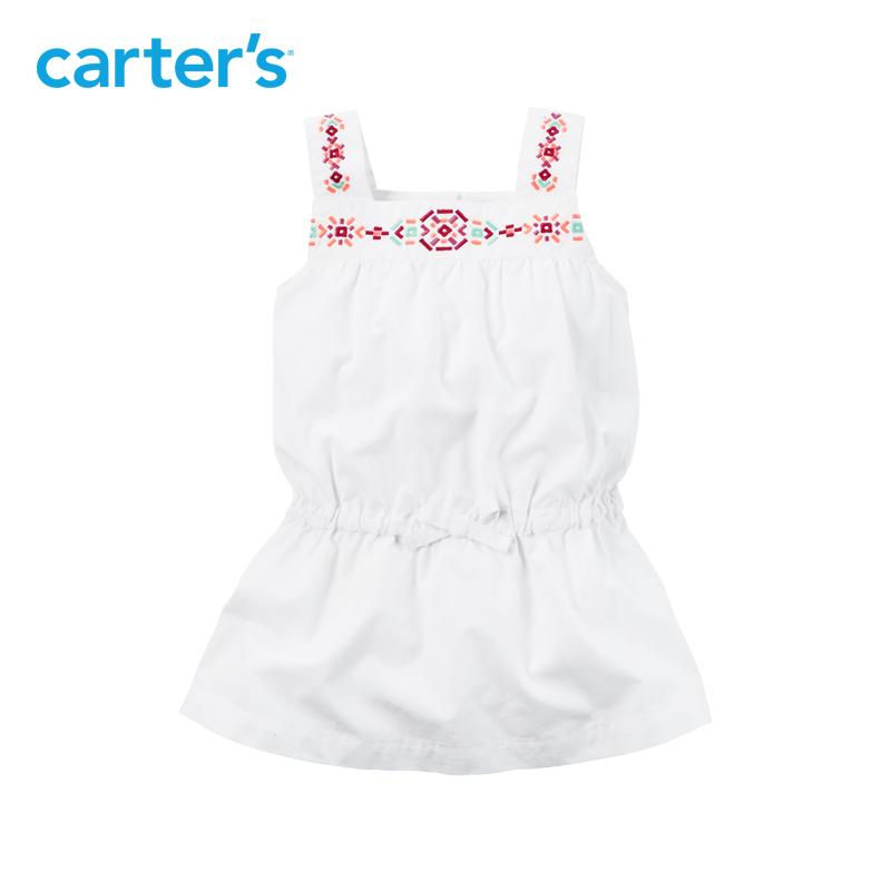 全棉刺繡女寶寶幼兒