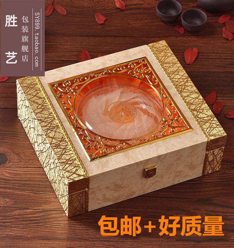 金窗燕窝包装盒木盒新款天然燕窝礼品盒高档虫草礼盒批发燕盏盒子