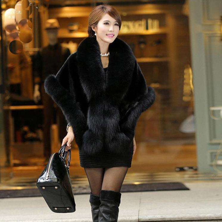 Cape mink Cape European and American style velvet mink fur with skirt cheongsam wedding dress stage performance