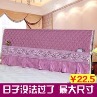 Прикроватный накладка Чехол на кровать пыленепроницаемый накладка 1,5 м кровать 1,8 м кровать простой клип хлопок Стирай и стирай мягко пакет Европейская защитная крышка из массива дерева