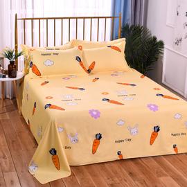 水洗棉床单单件学生宿舍1.2m单人双人床1.8米1.5m网红ins夏季被单图片