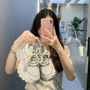 明星同款专柜正码老爹鞋女夏2021新款运动鞋ins潮休闲女鞋跑步鞋
