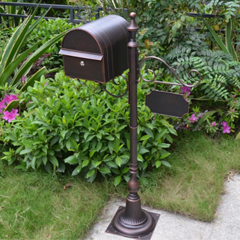 Европейская кованая железная вилла письмо коробка почтовый ящик почтовый ящик открытый дождь inbox почтовый ящик свадебный реквизит почтовый ящик
