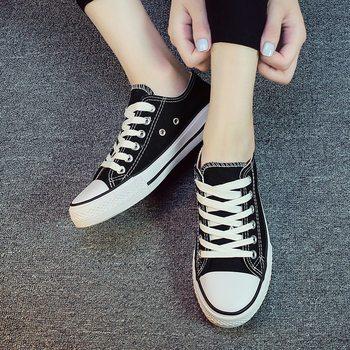 回力帆布男女球鞋休闲布鞋运动单鞋经典百搭黑白色情侣学生小白鞋