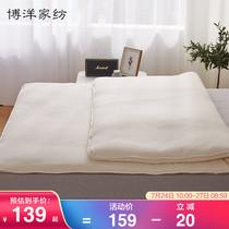 米1.2床褥子双人折叠单人保护垫子薄学生防滑1.8m北极绒床垫软垫
